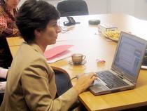 Adjunctul Consulului General al Ambasadei Statelor Unite la Bucuresti, Sonya Tsiros