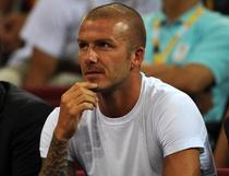 Beckham si-a facut aparitia la meciul lui L.A Galaxy