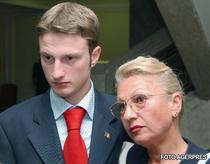 Andrei Tinu (fost Iucinu) si mama sa, Emilia Iucinu