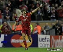 Gerrard salveaza pe Liverpool