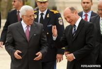Mahmoud Abbas, primit de Traian Basescu la Cotroceni, in noiembrie 2008