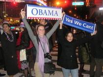 Victoria lui Obama, in New York