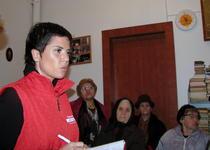 Luminita Anghel in campania electorala
