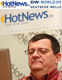 Cristian Sima in redactia HotNews.ro
