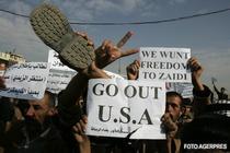 Demonstratii la Bagdad
