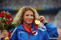 Constantina Dita, medaliata cu aur la Beijing.