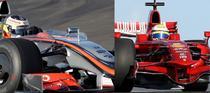 McLaren si Ferrari, cate trei monoposturi in F1