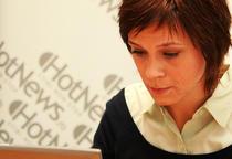 Eliza Rogalski in redactia HotNews.ro