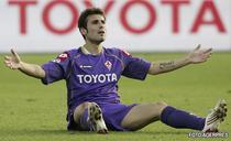 Mutu a fost capitanul Fiorentinei in meciul de cupa cu Torino.