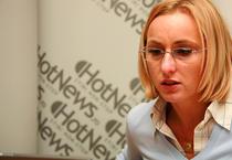 Gabi Szabo in redactia HotNews.ro