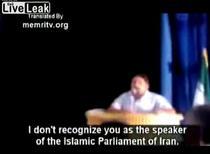 Discurs impotriva liderilor de la Teheran