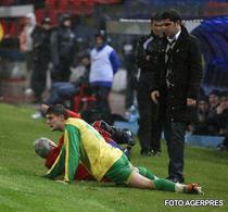 Dacia Mioveni a fost la pamant in meciul cu Steaua