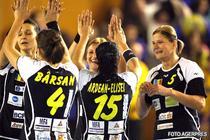 Handbalul feminin din Romania, locul 8 in Europa