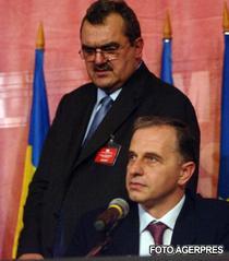Miron Mitrea si Mircea Geoana