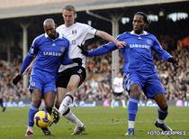 Chelsea, stopata la Fulham