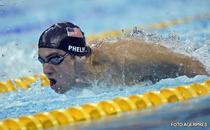 Phelps, locul 16 la 100 m liber