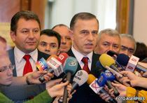 Mircea Geoana, noul presedinte al Senatului