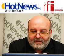 Lucian Albu in redactia HotNews.ro