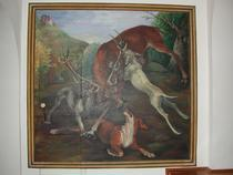 Pictura din conacul de la Balc