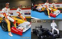 Fotogalerie: Noile monoposturi Renault si Williams