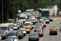 Trafic blocat in Capitală