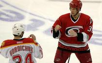 Lupta ca in filme pe gheata din NHL
