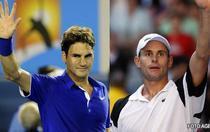 """Federer """"lupta"""" cu americanii la Madrid"""