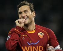 Roma egaleaza pe Milan in Serie A