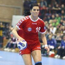 Adina Meirosu, liderul din teren pentru Oltchim.
