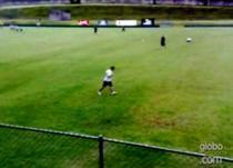 Ronaldo, antrenamente cu dificultati