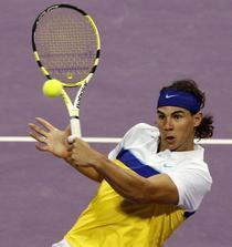 Nadal l-a executat pe Santoro in primul tur la Doha.