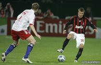 Beckham, debut la AC Milan