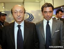 Luciano Moggi (stanga), suspendat pe viata din fotbal