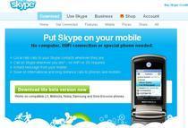 Versiune Skype pentru telefonul mobil