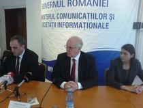 Gabriel Sandu, ministru MCSI si Fabio Colasanti, director CE