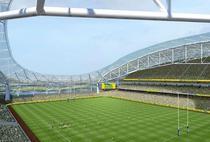 Aviva Stadium, in proiect