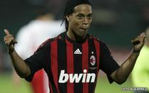 Ronaldinho, hat trick pentru AC Milan