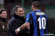 Relatia Adriano - Mourinho, momentan la capat de linie