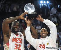 Kobe si Shaq, cei mai buni din All-Star-Game