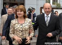 Traian Basescu si sotia sa, Maria