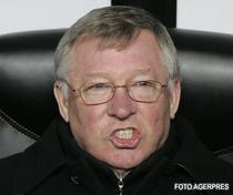 Remiza norocoasa pentru Sir Alex Ferguson