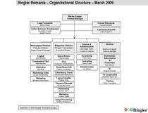 Noua structura organizationala Ringier Romania