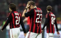 AC Milan, egalata in ultimele minute