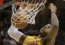 LeBron James, prima victorie cu Cleveland