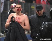 Un sporter implicat in violentele de la Steaua-FC Timisoara.