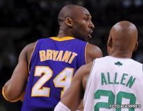 Bryant si Allen, printre cei mai buni de pe teren