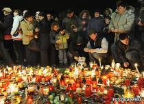 Oamenii din Veszprem au iesit pe strazi pentru Marian Cozma