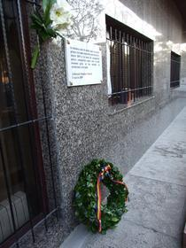 Placa comemorativa, dezvelita la Ambasada Romaniei la Madrid