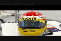 Fernando Alonso, casca noua pentru sezonul 2009