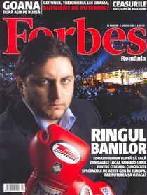 Coperta nr.1 Forbes Romania